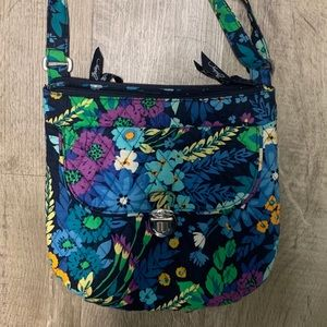 Vera Bradley Midnight Blues crossbody purse